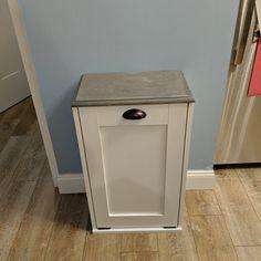 Wood Trash Can, Recycling Bin, Storage Bin, Solid Pine Garbage Can Laundry Hamper, Storage, Trash Barrel, Custom Kitchen Island, Recycling, Wood Trash Can, Slatted Shelves, Wooden Bins, Storage Bin