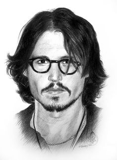 johnny depp pencil drawing pbrady art - I know this board is pen & ink, but there are times when another medium is worth pinning! Cool Pencil Drawings, Amazing Drawings, Amazing Art, Pencil Art, Joker Drawings, Johnny Depp, Cool Sketches, Drawing Sketches, Anime Comics
