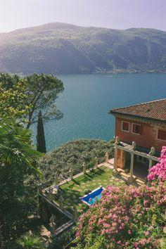 Lake Lugano, Switzerland (by A-PA)