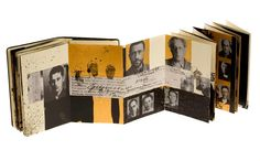Juan Rayos, moleskin accordian book  The Great Purge