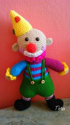 crochet clown :-)