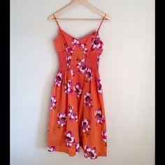 ☀️HOST PICK☀️ MAXAZRIA Collection Dress Happy and bright size 2 MAXAZRIA Collection summer dress. 100% cotton, lining 100% silk. Adjustable straps. Max Azria Collection Dresses Mini