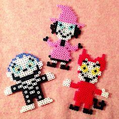 Nightmare Before Christmas perler beads