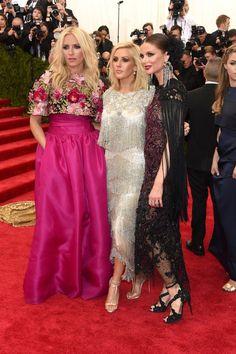 Pin for Later: Seht alle Stars bei der Met Gala Keren Craig, Georgina Chapman und Ellie Goulding in Marchesa