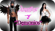 Ángeles y Demonios, Nueva temporada - Sims 4 ¿Quedamos? Trailer Fan Made