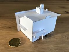 Work in progress: bouwplaat Rietveld Schröderhuis Schroder House, Paper Models, Home Furniture, Diagram, Home Decor, Mockup, Recipes, Architecture, Paper Templates