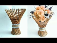 How to choose the perfect vase for your flowers. See our top tips plus the 5 types of vase every flower lover should own. Paper Flower Vase, Flower Vase Making, Paper Vase, Paper Flowers Diy, Diy Paper, Flower Vases, Newspaper Flowers, Newspaper Crafts, Plastic Bottle Flowers