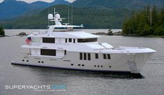 Nordhavn Yachts Nordhavn Yachts is a classic tale about two young mariners who spent their early years crossing oceans in small yachts, but their. Big Yachts, Small Yachts, Sport Fishing, Fishing Boats, Expedition Yachts, Row Row Your Boat, Yacht Builders, Deck Boat, Yacht Broker