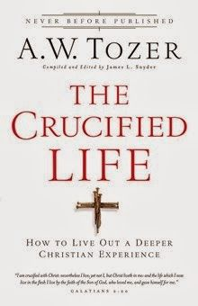 "The Crucified Life A. W. Tozer, James L. Snyder  ""I am crucified with #Christ: nevertheless I live; yet not I, but Christ liveth in me; and the life which now I live in the flesh I live by the faith of the #SonofGod, who loved me, and gave himself for me.""...  http://www.faithfulreads.com/2014/03/saturdays-christian-kindle-books-early_8.html"