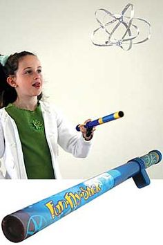 Fun Fly Stick Set-Your kids will love amazing family and friends with this magical anti-gravity wand which uses the science of static electricity. Chinaberry.com