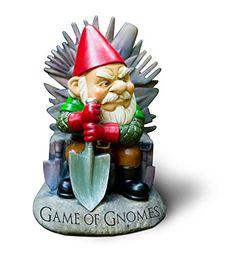 "Big Mouth Toys ""Game of Gnomes"" Garden Gnome Statues Big Mouth Toys http://www.amazon.com/dp/B00TGLTRDK/ref=cm_sw_r_pi_dp_6ILgvb0RZRBVJ"