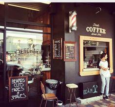 Barbershop coffee!