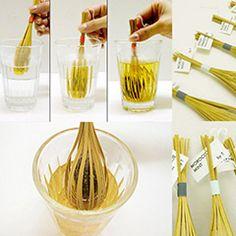 Les ingénieux sachets bambous