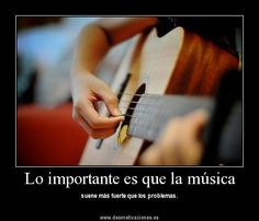 la música es expresion