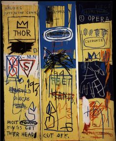 Charles the First, 1982  Jean-Michel Basquiat