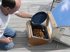 Antiquity Oaks -- How to create a solar oven roaster with potatoes, carrots, and onions, DIY, homesteading, energy efficient, power, self sufficient