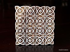 Indian Hand Carved Wood Block Stamp- Large Medieval Pattern by charancreations on Etsy https://www.etsy.com/listing/164678276/indian-hand-carved-wood-block-stamp