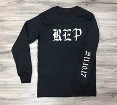 Taylor Swift REPUTATION Tour merch We can Customize any item (Name, date, a Personal message) add details in the order comment. If youd liken to use custom fonts wording sizes and color variation please message us with any requests. - Custom Printed in the USA - Wash Inside Out with