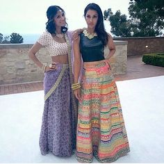 #Repost from @HoliChicByMegha. Such vibrant outfits