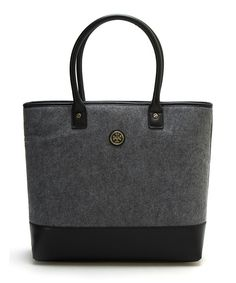 90a8ce6444e5 Look at this Tory Burch Gray Flannel Jayden Tote on  zulily today! Grey  Flannel