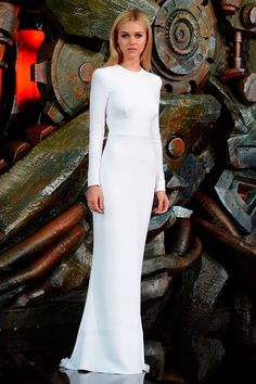 15 white dress moments from Stella McCartney that could hint to Meghan  Markle s wedding gown d7599ec682d