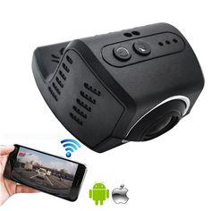 2016 Nuevo HD 1080 P Novetak 96658 DVR Coche DVR Grabador de Vídeo cámara de la Rociada Leva Cuadro Negro 30fps WIFI App para todos los coches