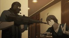 Chiquita fighting :) - Jormungand
