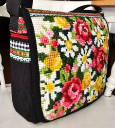 Vintage embroidery bag