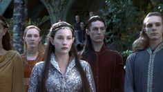 Arwen (Liv Tyler) in The Lord of the Rings: The Fellowship of the Ring (2001 New Line Cinema)