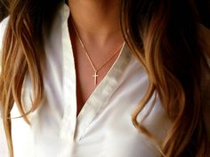 Cross Necklaces Gold