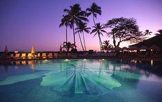 Halekulani, Honolulu, Hawaii- mosaic pool, pretty amazing