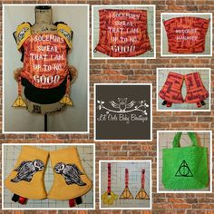 Harry Potter Tula accessories