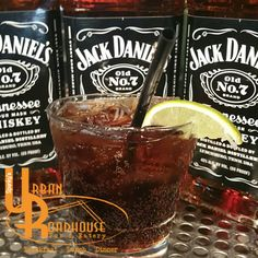 Come by Spanky's and cool off with a $3 Jack & Coke all day, everyday! #JackDaniels #JackandCoke #RefreshingDrinks #spankys