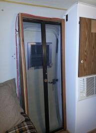 Boler screen door.