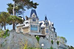 Villa Guard, Dinard, Ille-et-Vilaine, Cote d'Emeraude, Brittany.