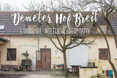Demeter Hof Breit - Farm in Wittlich, Germany - World Traveling Military Family Farm Activities, Fresh Milk, Organic Fruit, Organic Farming, Travel Information, Day Trip, Germany, Europe, Vacation