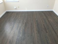 Duraseal Weathered Oak And Classic Grey On Red Oak