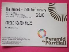 The Damned 2012