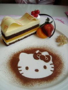 Hello Kitty Cafe......  @Ann Hurd...... This is fOr you
