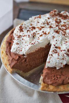 Super Speedy Double Chocolate Pie