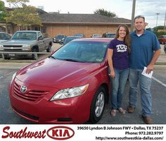 Happy Anniversary to Josh Plank on your 2009 Toyota Camry from Stanley Bowie and everyone at Southwest Kia Dallas!
