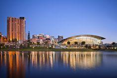 Adelaide, river side.
