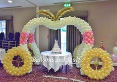 Cinderella Balloon Arch Decorations cakepins.com