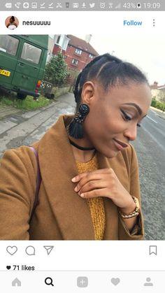 Cute Ghana Weaving Hairstyles It's hard not to go gaga for these cute Ghana braids. Natural Afro Hairstyles, Box Braids Hairstyles, African Hairstyles, Protective Hairstyles, Girl Hairstyles, Protective Styles, Hairstyle Ideas, Hair Ideas, African Threading