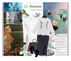 """""""The pond"""" by valc5 ❤ liked on Polyvore featuring Whiteley, Pottery Barn, Abigail Ahern, Thomas Wylde, Gucci, Opening Ceremony and Giuseppe Zanotti"""