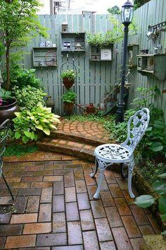 Private Garden Corner #garden #corner #decorhomeideas