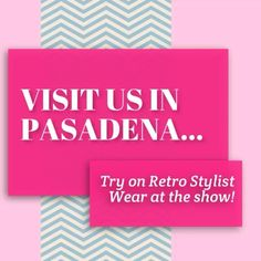 Groom Expo next month already in Pasadena!  http://www.retrostylistwear.com
