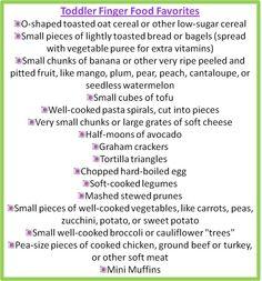 Toddler Finger Foods #finger #foods