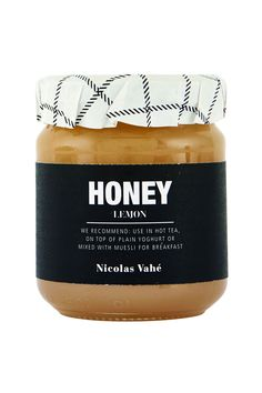 This honey with lemon has a sweet and rich flavour that comes with a twist of lemon. It is ideal to eat with Roquefort, blue cheese, and stronger cheeses in general. You can also use it to spice up your cooking with a wonderful and seductive flavour, or e Lavender Honey, Honey Lemon, Packaging Design, Branding Design, Muesli, Baking Ingredients, Christmas Shopping, Cookie Dough, Spice Things Up