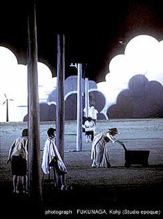 「さかしま」 舞台近景遠景画像